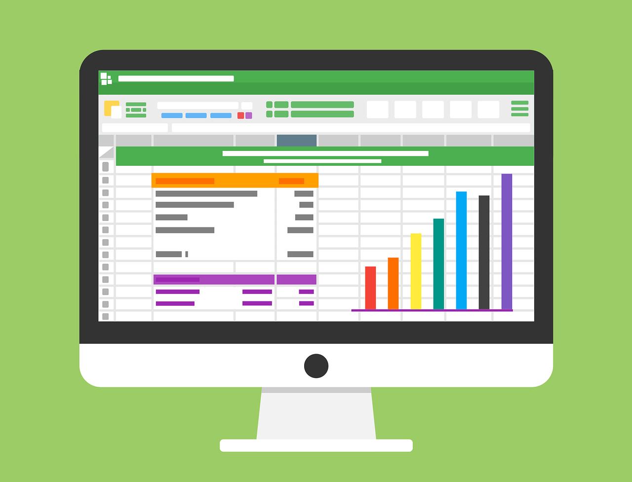 Excelでガントチャートを作る!